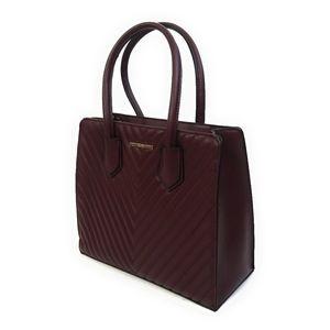 ALDO New Quilted 2 Face Burgundy Handbag Purse